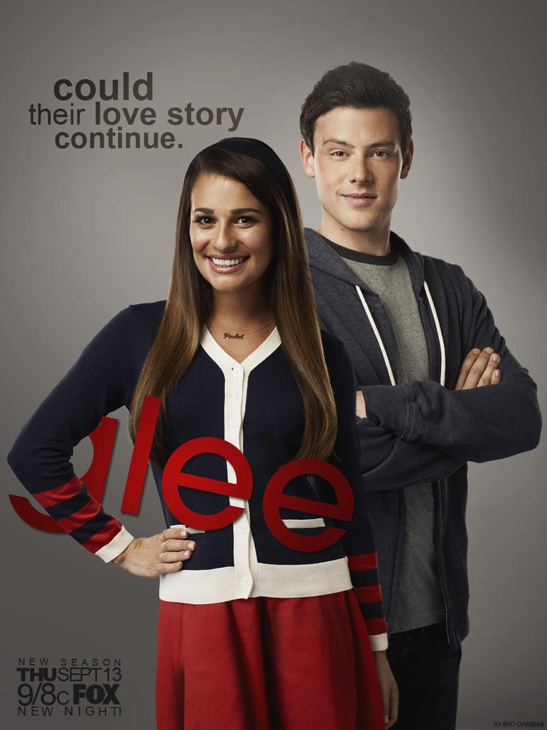 glee season 4 finachel promo poster by ryodambar d5cianc Glee S04E13 (4x13) HDTV   720p / XviD / x264