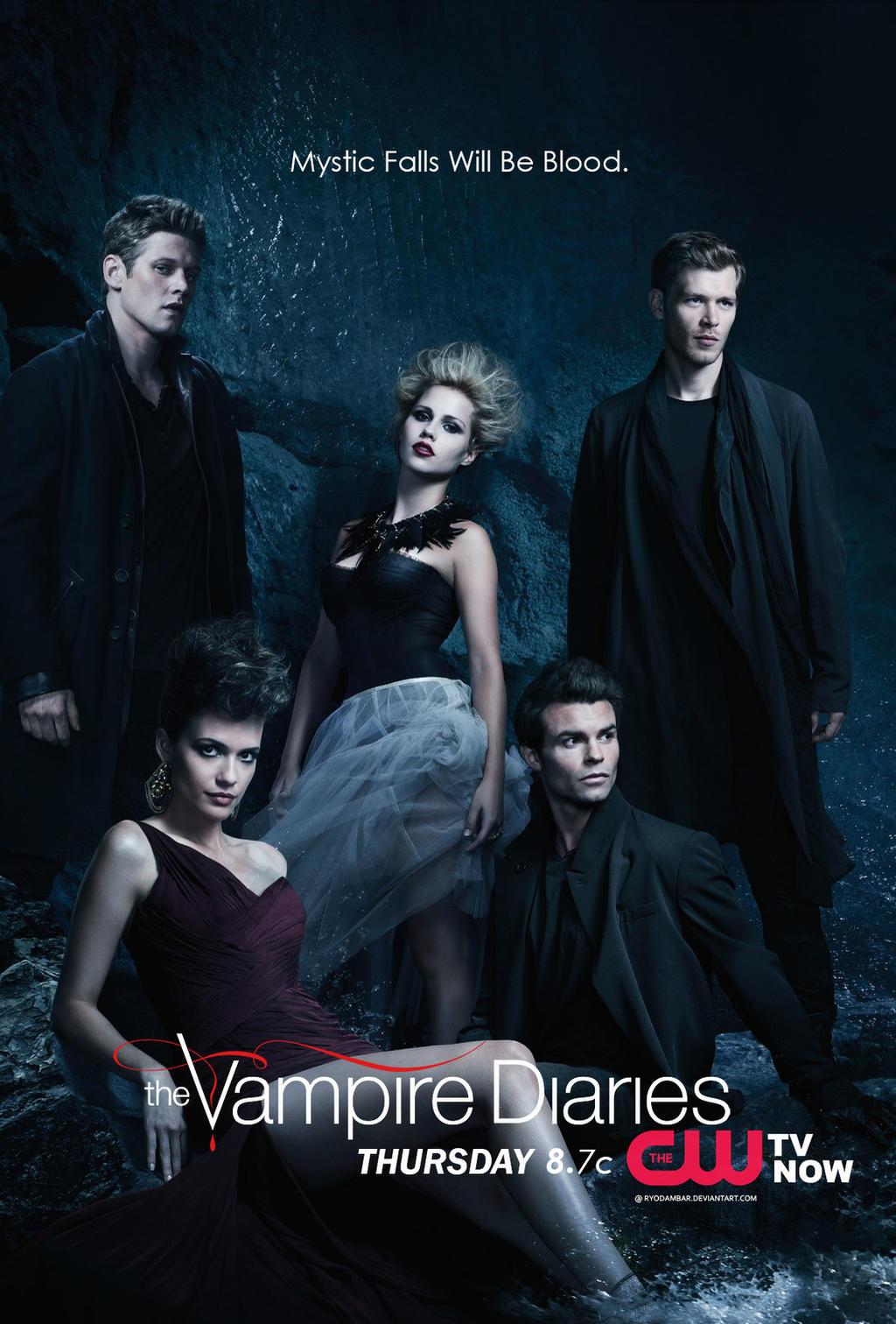 Vampire Diaries Netflix Poster TVD:IV Promo Poster-My...