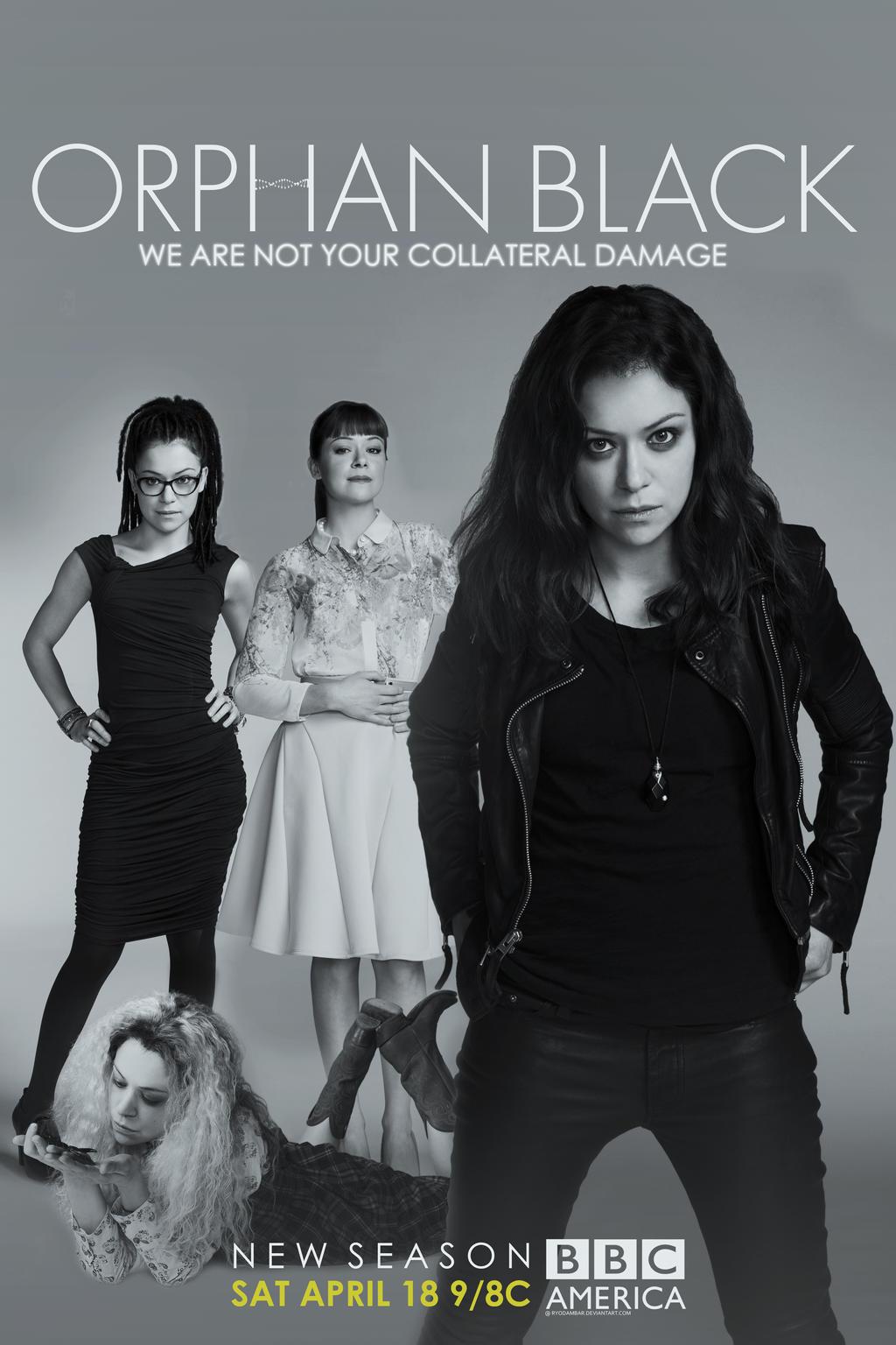 'Orphan Black' Season 3 Posters | BBC America |Orphan Black Season 3 Poster