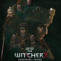 ''Witcher 2: Assassins of Kings'' ANNIVERSARY art by servia-art