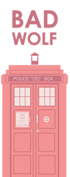 rose TARDIS design by inu-ears