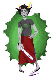 Kanaya - bloody version by inu-ears