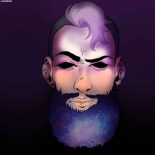 Galactic Beard by SpookyChester