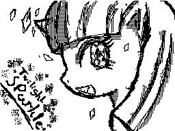 Twilight Sparkle DSi Pixel Art by DMN666