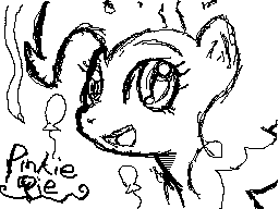 Pinkie Pie DSi Pixel Art by DMN666