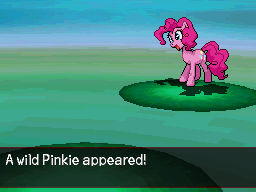 A Wild Pinkie Pie Appeared