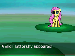 A Wild Fluttershy Appeared by DMN666