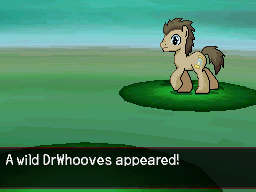 A Wild DrWhooves Appeared by DMN666