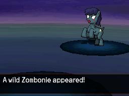 Wild Pony Special : Zombie by DMN666