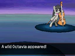 A Wild Octavia Appeared by DMN666