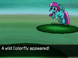 A Wild Colorfly Appeared by DMN666