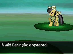 A Wild Daring Do Appeared by DMN666