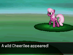 A Wild Cheerilee Appeared! by DMN666