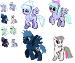 Ponymon : CloudChaser Flitter and others