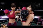 Dead Fantasy Boxing: Tifa Vs Hitomi [1]