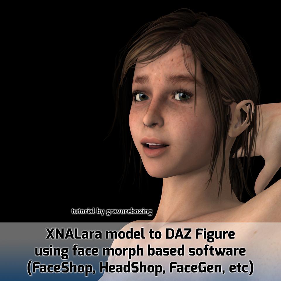 XNA to DAZ Figure using FaceShop/FaceGen/etc by