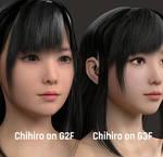 Chihiro on Genesis 2 Female!