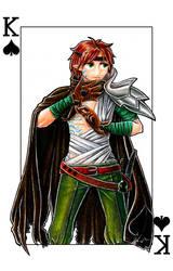 Poker cards: King of Spades by satsuki-herro
