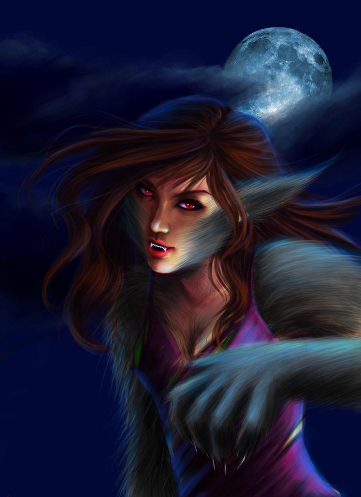 Werewolf by satsuki-herro