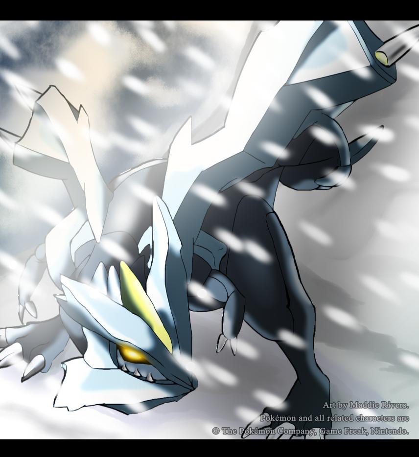 Ice Dragon Kyurem by nerdrodder