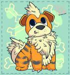 Mr Fluffy Growlithe
