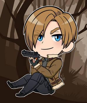 Resident Evil 4 Chibi Leon Kennedy (Jacket)