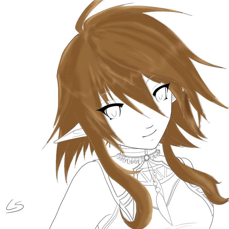 Hair practice by princessdaisy09