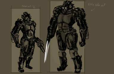 Space Soldier Design by NullFriction