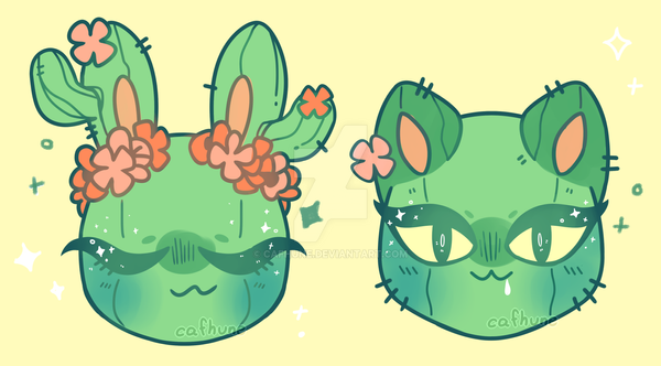 Cacti designs by Cafhune