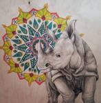 Endangered Species Series Rhino