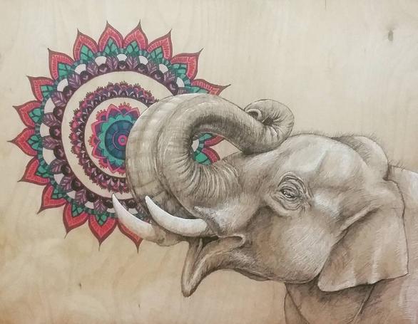 Endangered Species Series Elephant