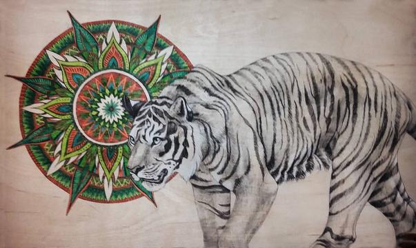Endangered Species Series Tiger 2