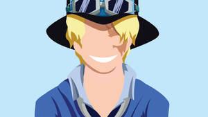One Piece - Sabo (Minimalist Wallpaper)