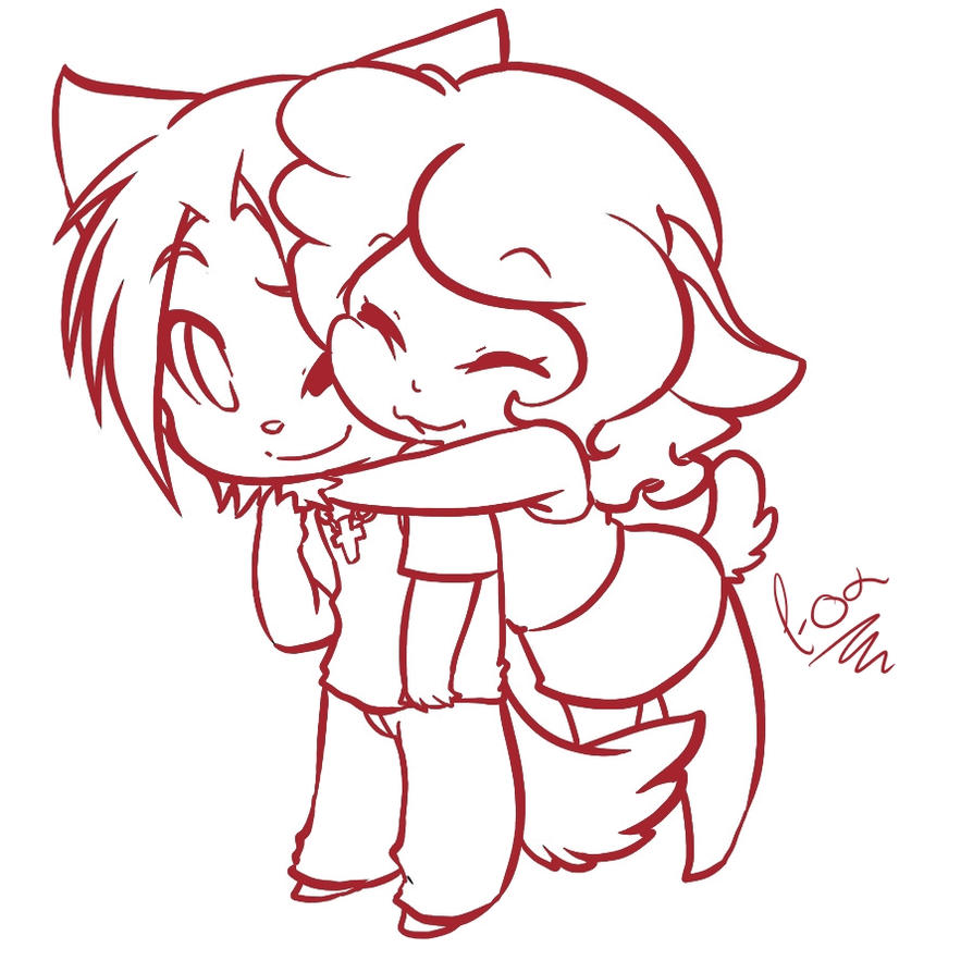 Chibi Love By Fox-Productions On DeviantArt