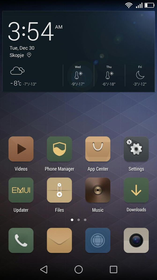 Simple Life Theme for EMUI 3.0 by Nesssy