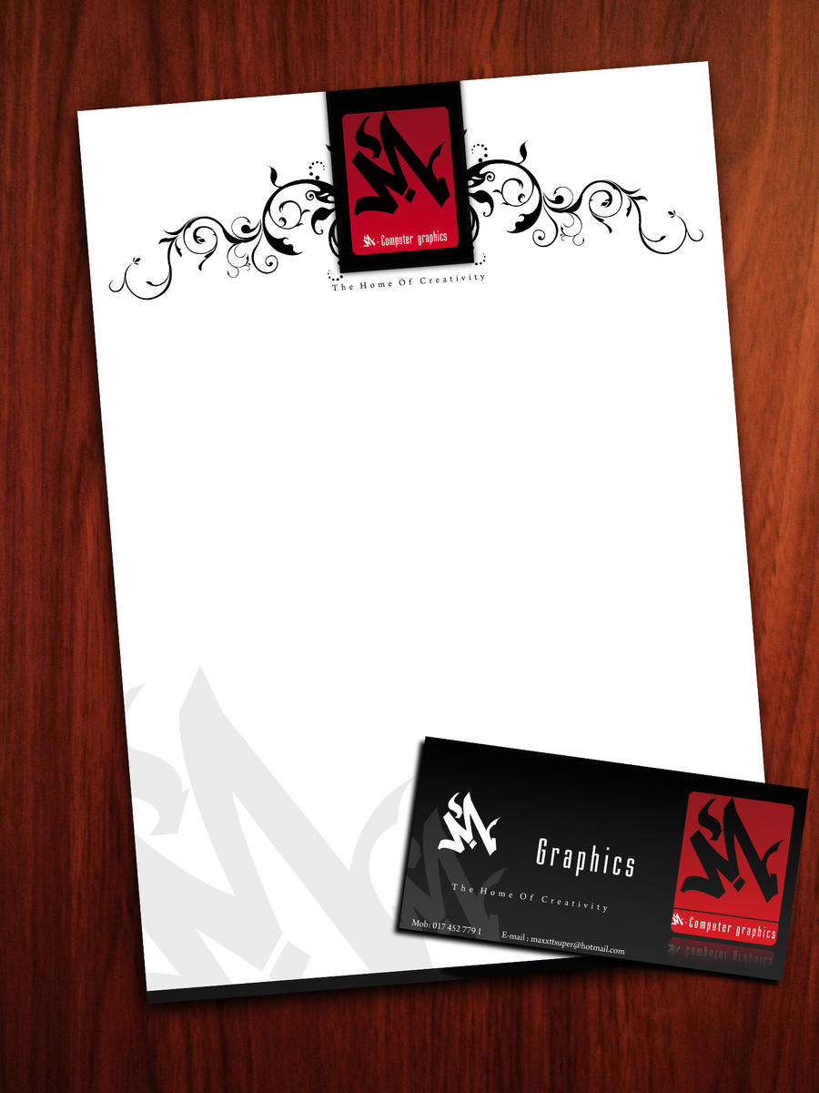 M-Graphics Letterhead
