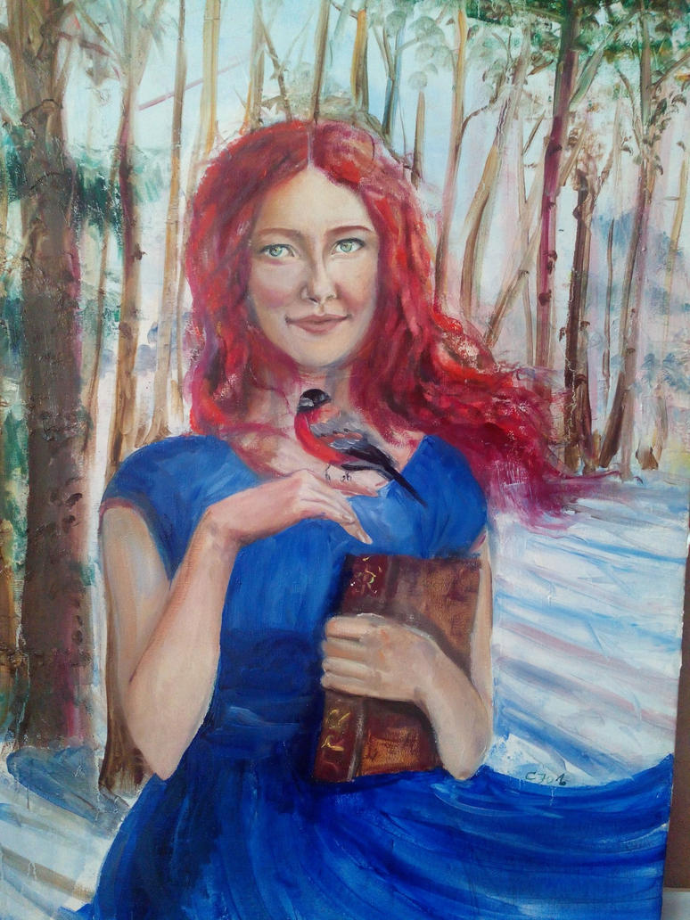 Self-portrait by julia94s