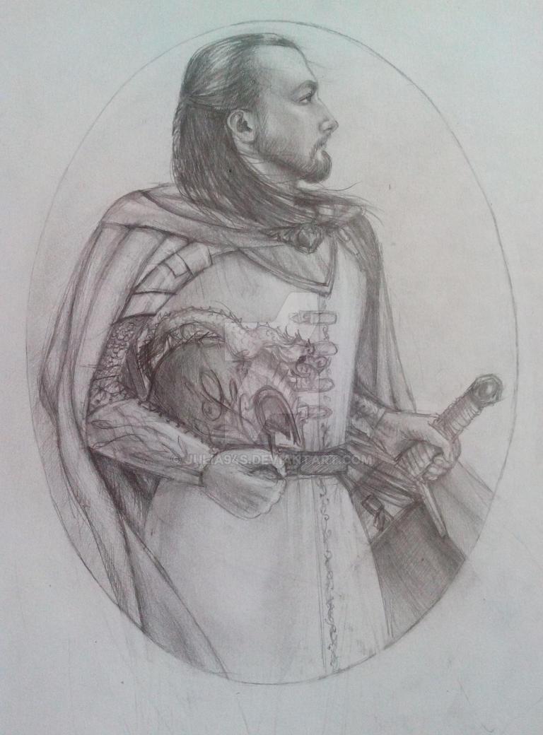 Turin Turambar sketch by julia94s