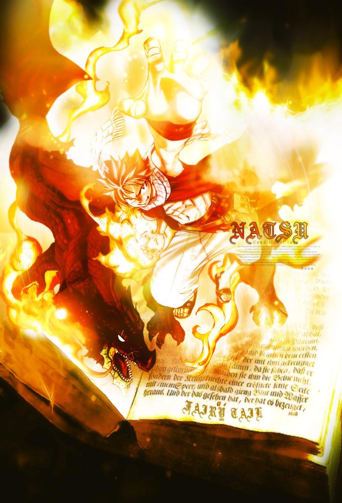 Natsu [ Fairy Tail ] by JunSoulsilver