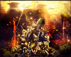 [ Wallpaper 1280 x 1024 ] FAIRY TAIL by JunSoulsilver