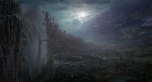 Dracula Landscape by EvilTommy01