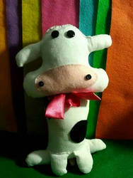 Cow Plushie  (Commission)