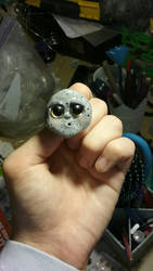 Almost done: Full Moon Brooch