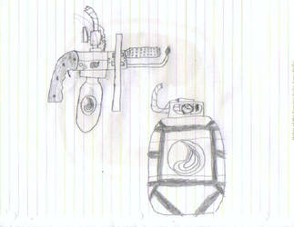 Improvised Flamethrower by tora777