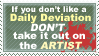 Let the Artists Have Their Day by savagebinn