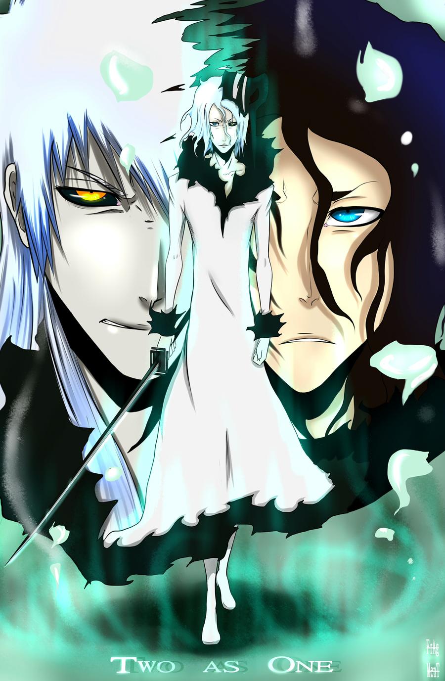 Hollow Tensa Zangetsu Wallpaper Two as One by I...