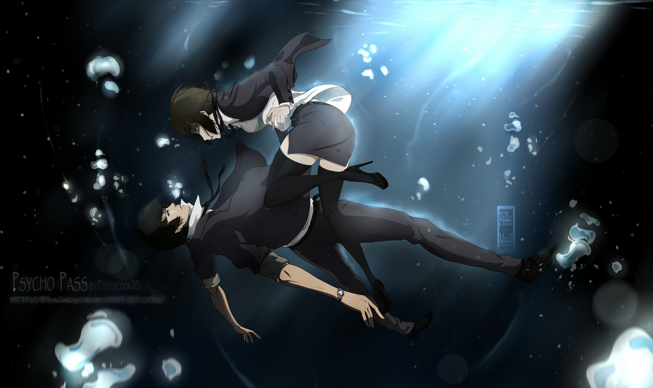 Psycho Pass Caged By Ifragmentix On Deviantart