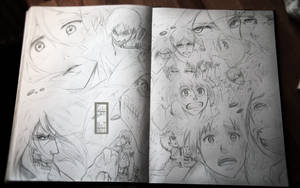 SNK - Pheonix - Sketch dumb by IFrAgMenTIx
