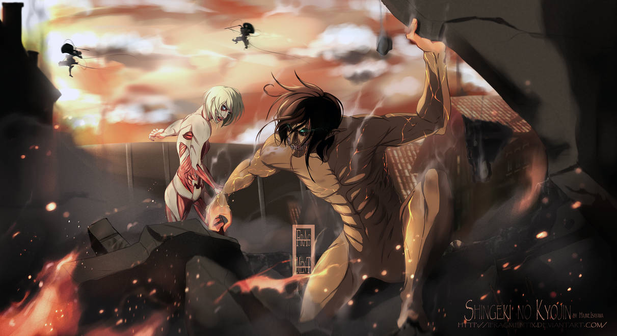 Shingeki no Kyojin - Throw Away your Humanity by IFrAgMenTIx