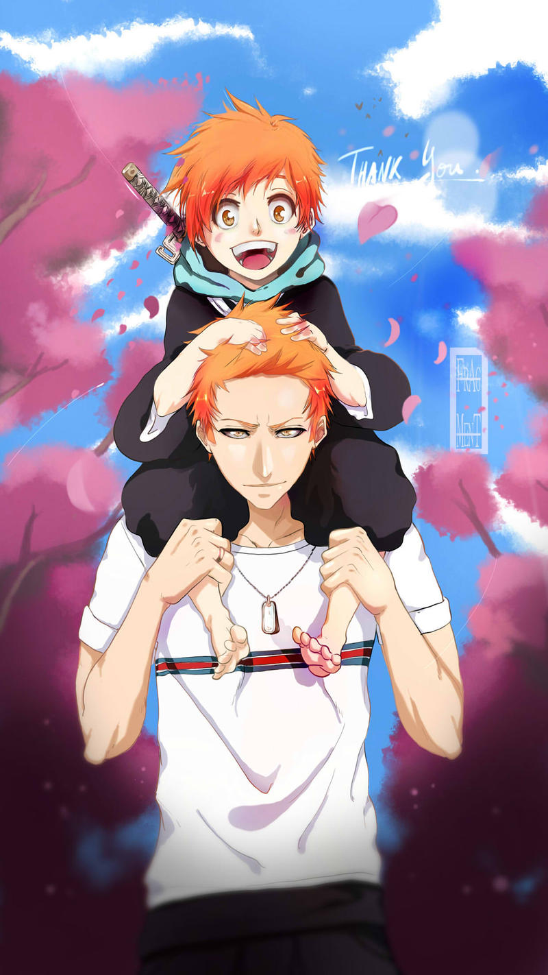 BLEACH - Father and Son by IFrAgMenTIx